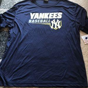 New York Yankees mlb official shirt xl nwt new